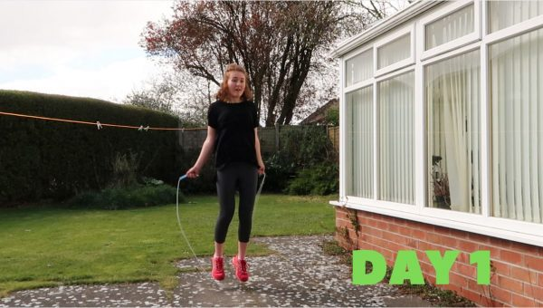 7 Day Jump Rope Challenge: Day 1